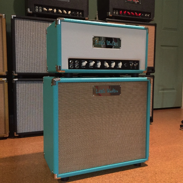 image for '59 Teal and Ivory Tolex with Teal Tolex 112 L Speaker