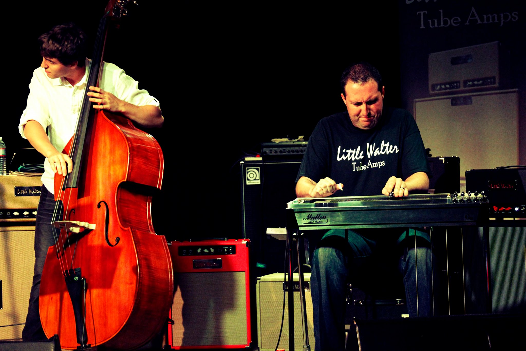 image for Travis Toy on Pedal Steel at Little Walter Tube Amps Endorsee Jam 2014